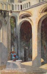 A CORNER OF THE COURTYARD, ELMINA CASTLE
