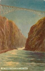VICTORIA FALLS BRIDGE AND GORGE