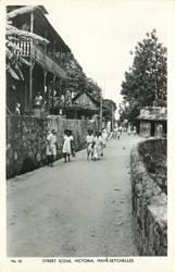 STREET SCENE, VICTORIA, MAHE