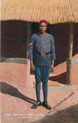COURT MESSENGER AMADU QUIATEH, A MANDINGO