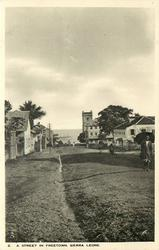 A STREET IN FREETOWN