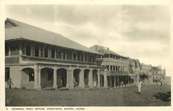GENERAL POST OFFICE, FREETOWN
