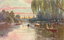 THE YARRA AT MELBOURNE