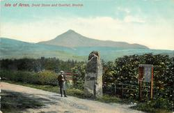 DRUID STONE AND GOATFELL, BRODRICK