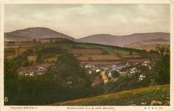 BUCKLAND HILLS AND BWLCH