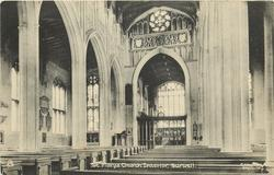 ST. MARY'S CHURCH INTERIOR