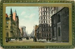 COLLINS STREET LOOKING FROM QUEEN STREET