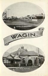 TUDHOE ST. WAGIN, W.A. and POST OFFICE, WAGIN, W.A.