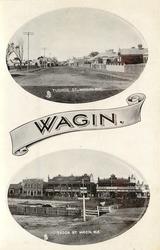 TUDHOE ST. WAGIN, W.A. and TUDOR ST. WAGIN, W.A.