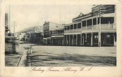STIRLING TERRACE  shops right