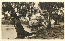 S.S. MARIAN AT KINGSTON LANDING, RIVER MURRAY, S. AUSTRALIA