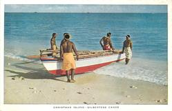 GILBERTESE CANOE