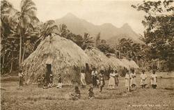 A MOUNTAIN VILLAGE, FIJI