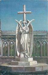 THE STATUE, MEMORIAL WELL