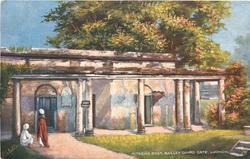 AITKEN'S POST, BAILLEY GUARD GATE