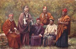 GROUP OF LAMAS