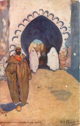 MARRAKESH, HORSE-SHOE GATE
