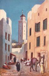 A STREET IN MOGADOR