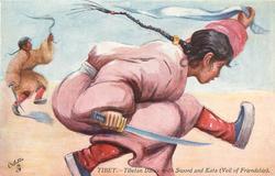 TIBETAN DANCE WITH SWORD AND KATA (VEIL OF FRENDSHIP)