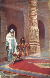 LA PRIERE AU TEMPLE (PRAYING IN THE TEMPLE)