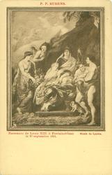 NAISSANCE DE LOUIS XIII A FONTAINEBLEAU LE 27 SEPTEMBRE 1601