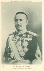 LE VICOMTE KATSURA, PREMIER MINISTRE DU JAPON