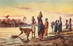 ON THE SHORE OF THE NILE