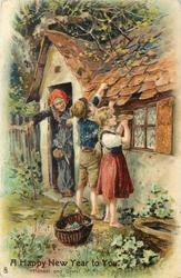 A HAPPY NEW YEAR TO YOU  HANSEL AND GRETEL