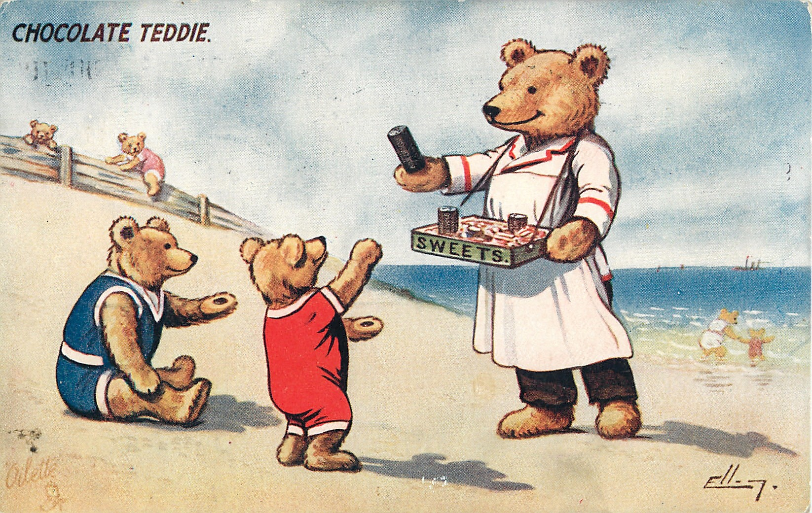 CHOCOLATE TEDDIE