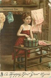 A HAPPY NEW YEAR TO YOU  WASHING DAY