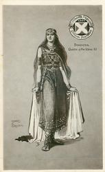 BOADICEA, QUEEN OF THE ICENI, 61