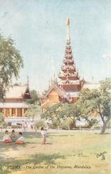 THE CENTRE OF THE UNIVERSE, MANDALAY