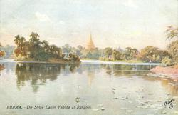 THE SHWE DAGON PAGODA AT RANGOON