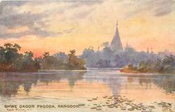 SHWE DAGON PAGODA, RANGOON