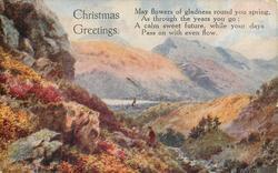 BEN VORLICH FROM GLEN OGLE CHRISTMAS GREETINGS