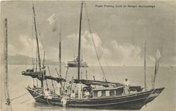 PEARL FISHING BOAT AT MERGUI ARCHIPELAGO