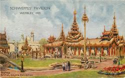SCHWEPPES' PAVILION  WEMBLEY, 1925