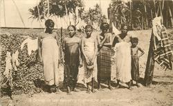 A GROUP OF LOW COUNTRY SINHALESE WOMEN, COLOMBO