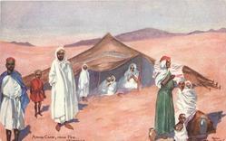 ARAB CAMP, NEAR FEZ