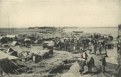 BRITISH CAMP, ALI GHARBI MESOPOTAMIA