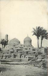 MUSLIM CEMETERY BAGHDAD