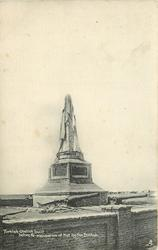 TURKISH OBELISK BUILT BEFORE RE-OCCUPATION OF KUT BY THE BRITISH  no soldiers