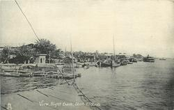 VIEW, RIGHT BANK, SHATT-EL-ARAB