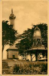 THE MONUMENT AND BANDSTAND, FORTHILL