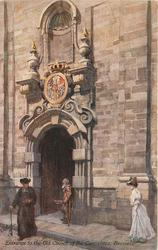 ENTRANCE TO THE OLD CHURCH OF THE CARMELITES
