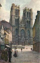 THE CATHEDRAL OF STE GUDULE