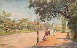 VIEW OF MALABAR HILL