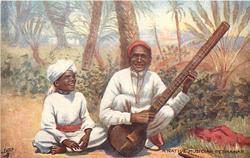 A NATIVE MUSICIAN, PESHAWAR