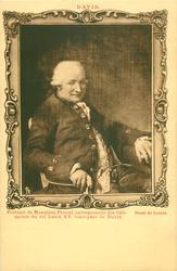 PORTRAIT DE MONSIEUR PECOUL, ENTREPRENEUR DES BATIMENTS DU ROI LOUIS XV, BEAU-PERE DE DAVID
