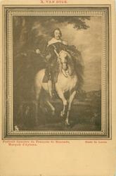 PORTRAIT EQUESTRE DE FRANCOIS DE MONCADE, MARQUIS D' AYTONA